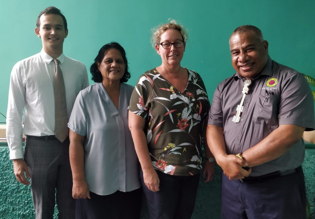 NEC Commissioner Meets with Angela Tierney , Australia's High commissioner to Nauru