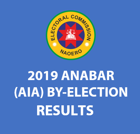 2019 Anabar (AIA) By-Election Results